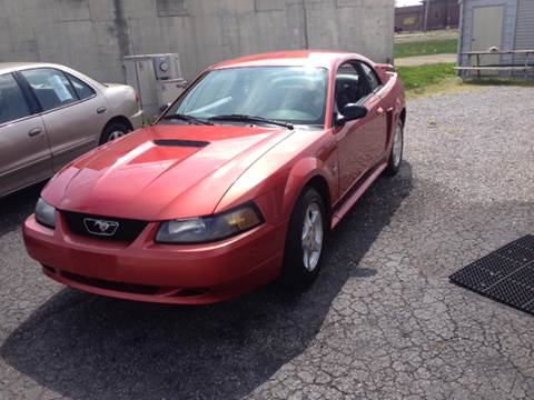 2002 Ford Mustang for sale in Shelbyville, IN
