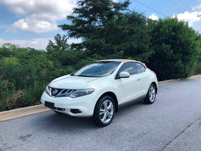 2011 Nissan Murano CrossCabriolet AWD 2dr SUV Convertible   Stone Mountain  GA