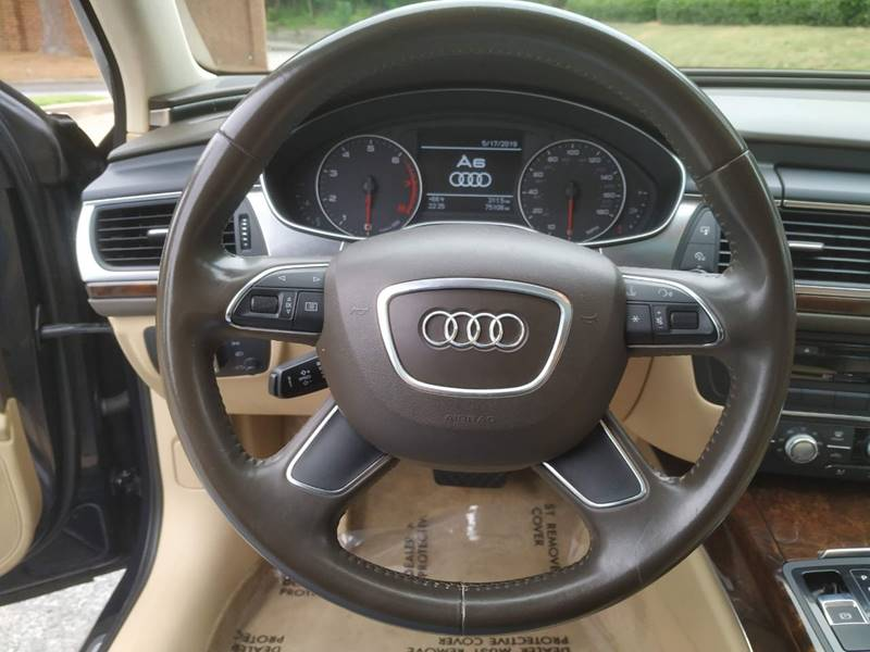 2012 Audi A6 2 0T Premium 4dr Sedan CVT In Stone Mountain GA