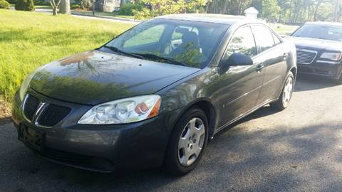 2007 Pontiac G6 for sale in North Easton MA