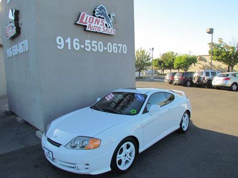 2004 Hyundai Tiburon for sale in Sacramento, CA