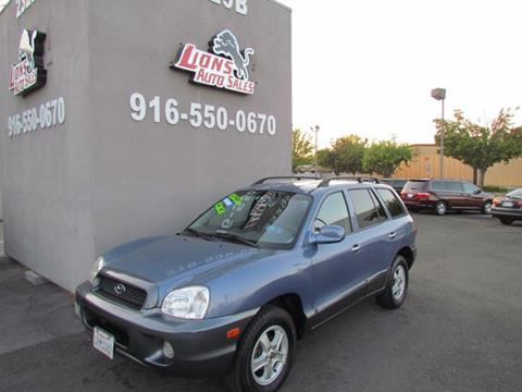 2001 Hyundai Santa Fe for sale in Sacramento, CA