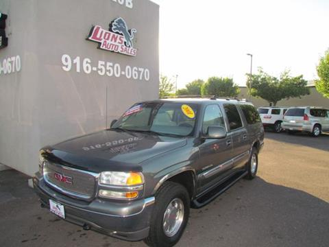 2001 GMC Yukon XL for sale in Sacramento, CA