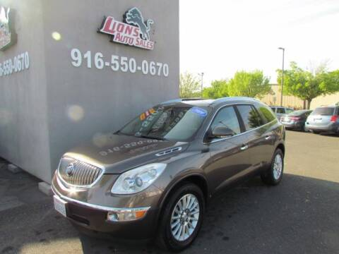 2009 Buick Enclave CXL for sale at LIONS AUTO SALES in Sacramento CA