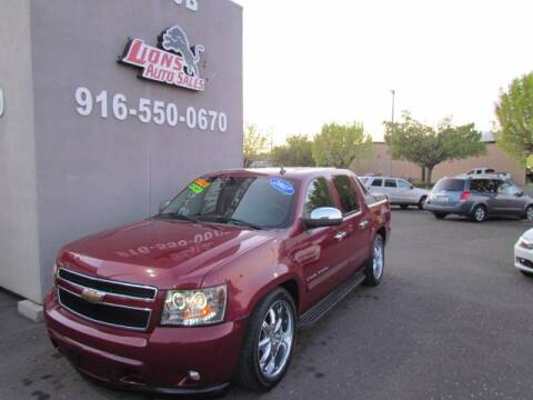 2007 Chevrolet Avalanche LS 1500 for sale at LIONS AUTO SALES in Sacramento CA