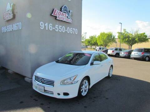 2014 Nissan Maxima 3.5 S for sale at LIONS AUTO SALES in Sacramento CA
