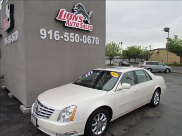 2010 Cadillac DTS for sale in Sacramento, CA