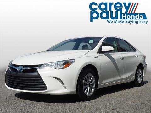 2016 Toyota Camry Hybrid for sale in Snellville, GA