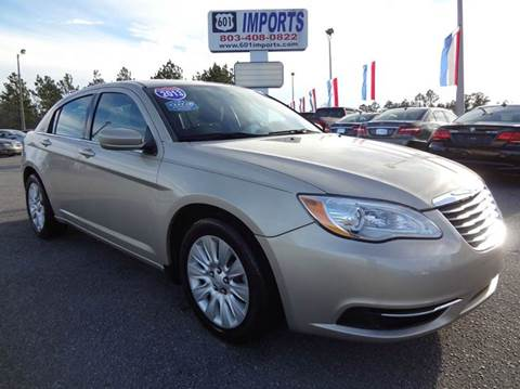 2013 Chrysler 200 for sale at 601 Imports, Inc in Lugoff SC