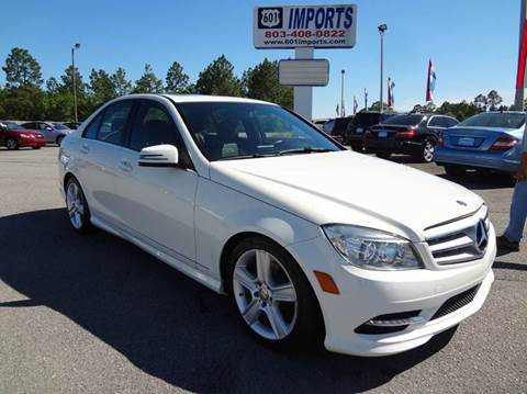 2011 Mercedes-Benz C-Class for sale at 601 Imports, Inc in Lugoff SC