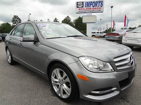 2012 Mercedes-Benz C-Class for sale at 601 Imports, Inc in Lugoff SC