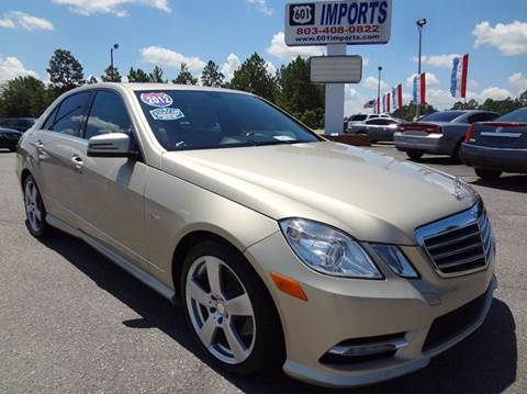 2012 Mercedes-Benz E-Class for sale at 601 Imports, Inc in Lugoff SC