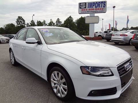 2012 Audi A4 for sale at 601 Imports, Inc in Lugoff SC