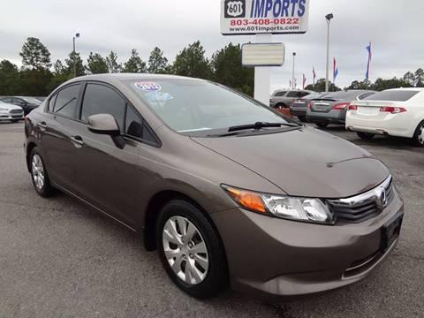 2012 Honda Civic for sale in Lugoff, SC