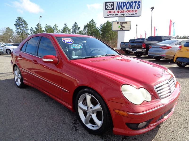 2006 Mercedes Benz C Class For Sale At 601 Imports, Inc In Lugoff