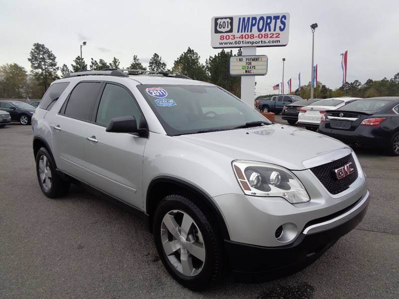 watch acadia sale sold miles awd gmc return sle lease nice youtube sunroof for