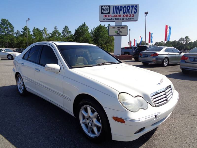 2002 Mercedes Benz C Class For Sale At 601 Imports, Inc In Lugoff