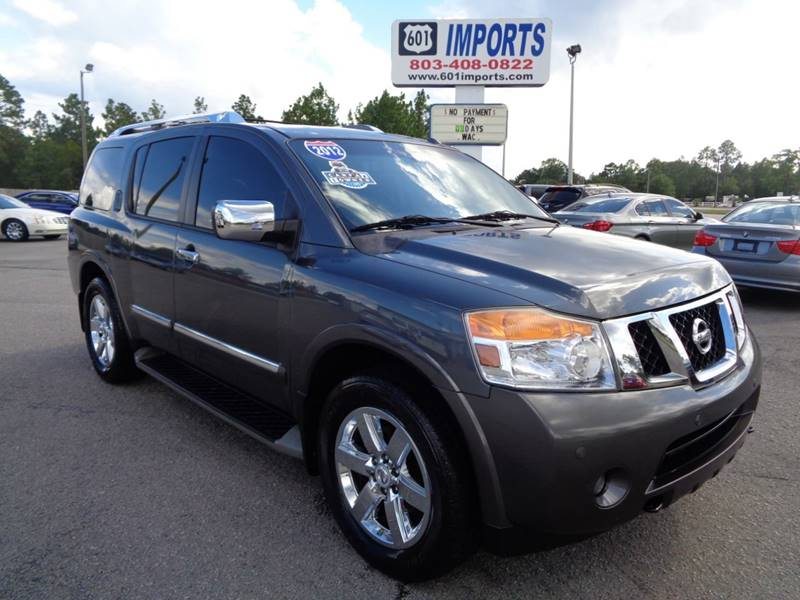 2012 Nissan Armada For Sale At 601 Imports, Inc In Lugoff SC