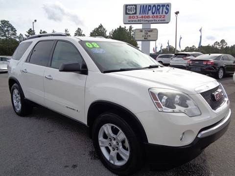 2008 GMC Acadia for sale in Lugoff, SC