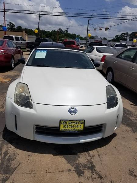 2008 Nissan 350z Enthusiast 2dr Convertible 6m In Conroe