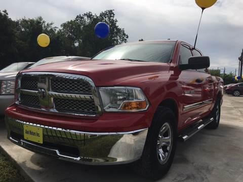 2011 RAM Ram Pickup 1500 for sale at Abel Motors, Inc. in Conroe TX