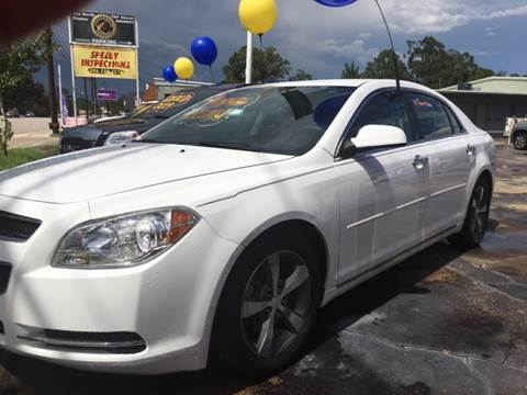 2012 Chevrolet Malibu for sale at Abel Motors, Inc. in Conroe TX