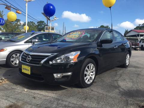 2015 Nissan Altima for sale at Abel Motors, Inc. in Conroe TX