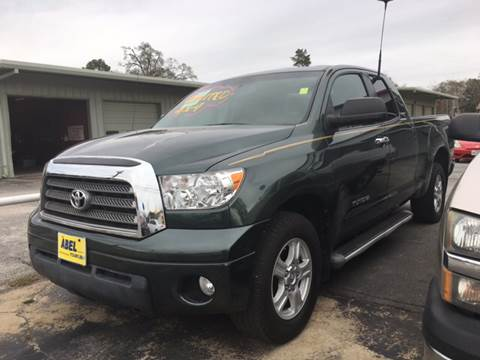 2007 Toyota Tundra for sale at Abel Motors, Inc. in Conroe TX