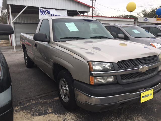 2004 Chevrolet Silverado 1500 2dr Standard Cab Work Truck Rwd LB - Houston TX