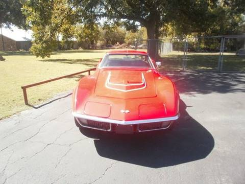 1971 corvette stingray restoration
