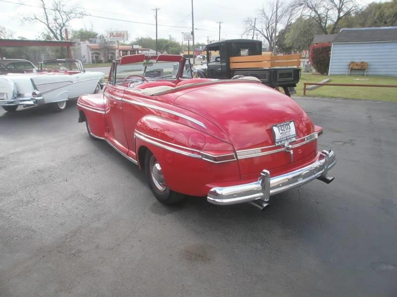1946 Mercury Convertible In Cleburne TX - GRIFFIN\'S CLASSIC CARS