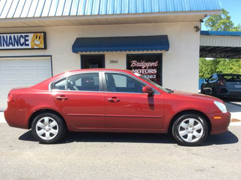 2008 Kia Optima for sale at BRIDGEPORT MOTORS in Morganton NC