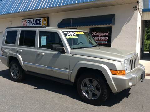 2006 Jeep Commander for sale at BRIDGEPORT MOTORS in Morganton NC