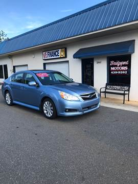 2010 Subaru Legacy for sale at BRIDGEPORT MOTORS in Morganton NC