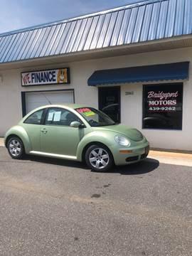 2007 Volkswagen New Beetle for sale at BRIDGEPORT MOTORS in Morganton NC