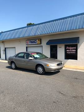 2003 Buick Century for sale at BRIDGEPORT MOTORS in Morganton NC
