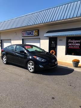 2013 Hyundai Elantra for sale at BRIDGEPORT MOTORS in Morganton NC