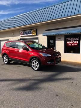 2013 Ford Escape for sale at BRIDGEPORT MOTORS in Morganton NC