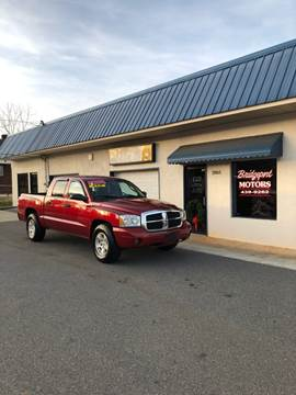 2007 Dodge Dakota for sale at BRIDGEPORT MOTORS in Morganton NC
