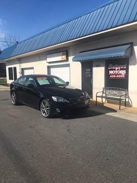 2008 Lexus IS 250 for sale at BRIDGEPORT MOTORS in Morganton NC
