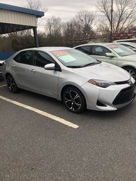 2017 Toyota Corolla for sale at BRIDGEPORT MOTORS in Morganton NC