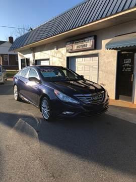 2012 Hyundai Sonata for sale at BRIDGEPORT MOTORS in Morganton NC
