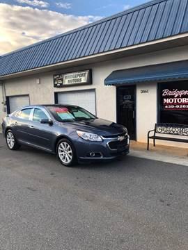2014 Chevrolet Malibu for sale at BRIDGEPORT MOTORS in Morganton NC