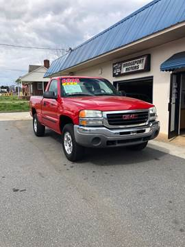 2003 GMC Sierra 1500 for sale at BRIDGEPORT MOTORS in Morganton NC