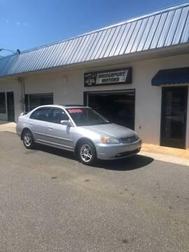 2002 Honda Civic for sale at BRIDGEPORT MOTORS in Morganton NC
