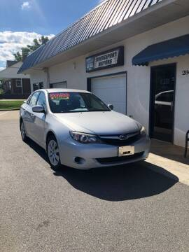 2010 Subaru Impreza for sale at BRIDGEPORT MOTORS in Morganton NC