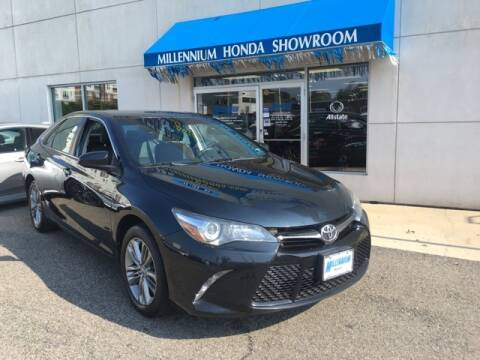 2015 Toyota Camry for sale at MILLENNIUM HONDA in Hempstead NY