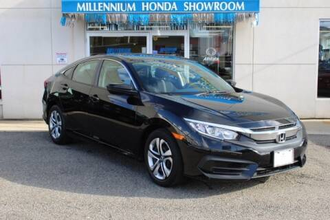 2016 Honda Civic for sale at MILLENNIUM HONDA in Hempstead NY