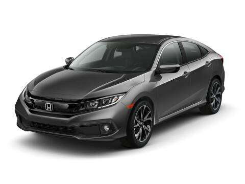 2020 Honda Civic for sale at MILLENNIUM HONDA in Hempstead NY