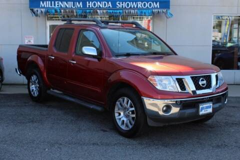 2012 Nissan Frontier for sale at MILLENNIUM HONDA in Hempstead NY
